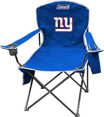NFL COOLER QUAD FOLDING CHAIR