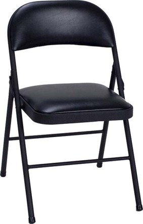 COSCO VINYL 4-PACK FOLDING CHAIR