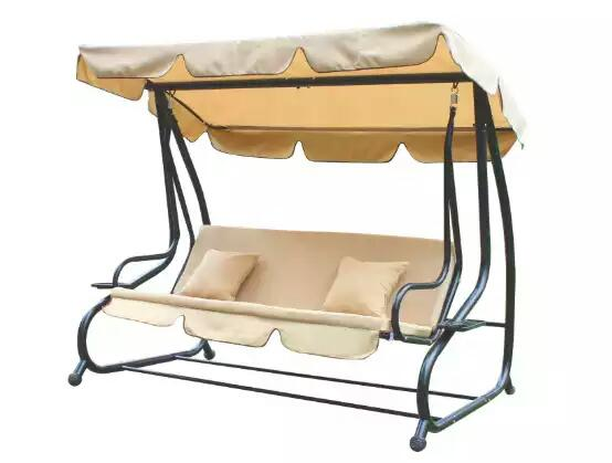 Adeco Canopy Awning Porch Swing Bench chair