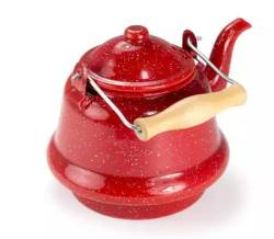 GSI Outdoors red small tea kettle