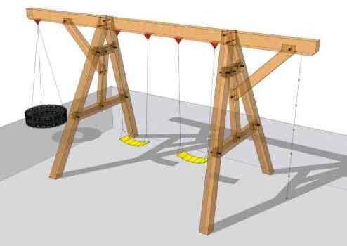 best models of wooden swings