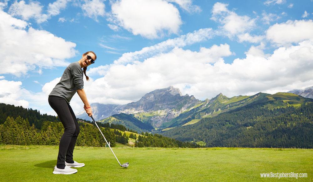Golf de Villars, Suisse