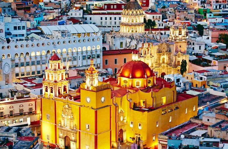 eglise guanajuato mexique