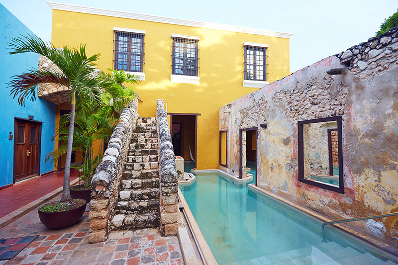 Hotel Luxe Campeche Mexique