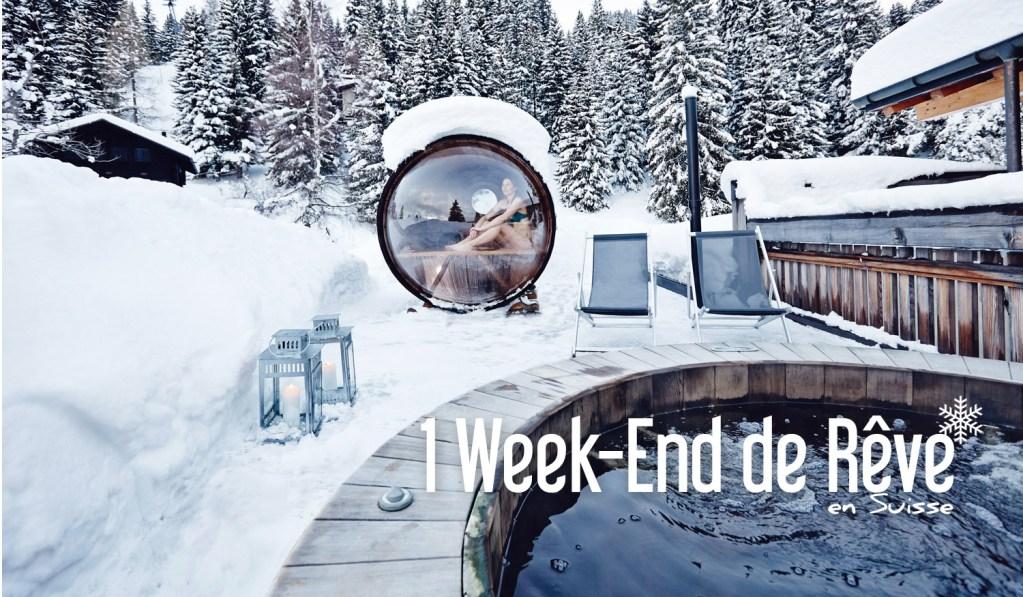 un week end de r ve en suisse. Black Bedroom Furniture Sets. Home Design Ideas