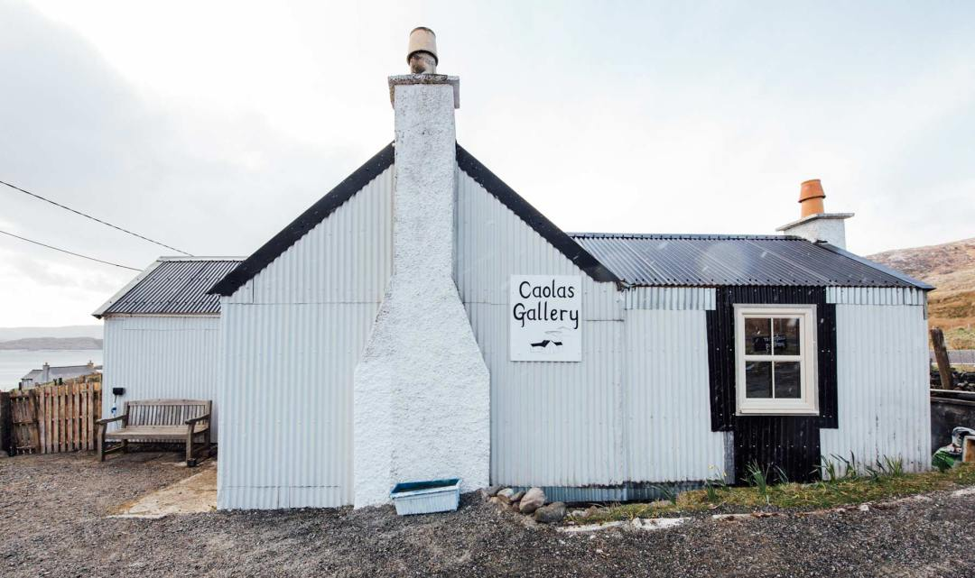 Caolas Gallery Harris Ecosse