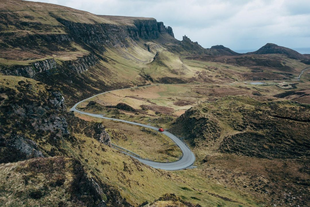 Road trip skye the quiraing