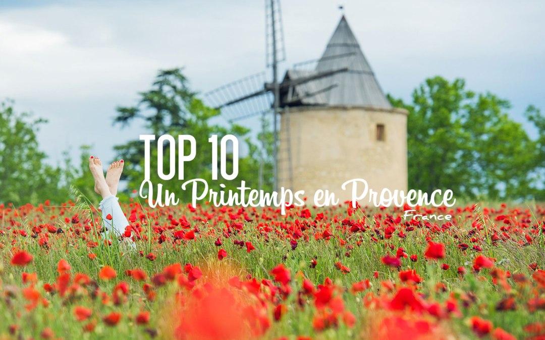 TOP 10   Un Printemps en Provence