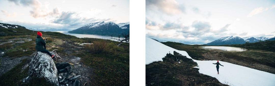 randonnée manndalen norvege