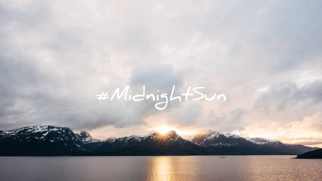midnight sun norvege