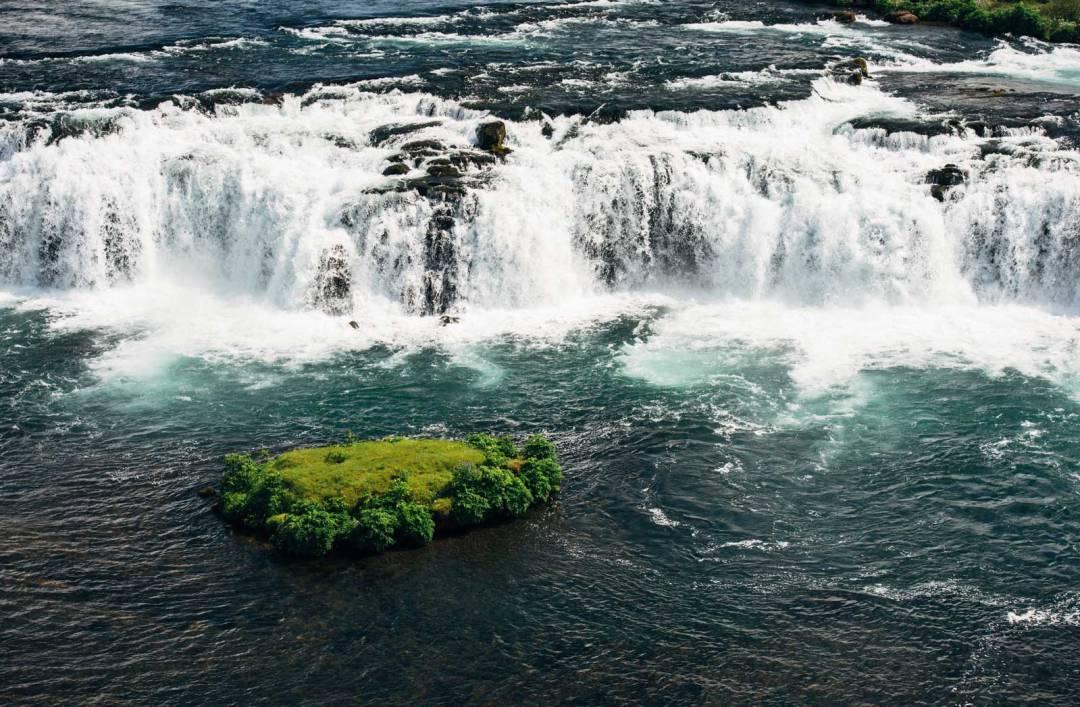 Cascade de Faxa, Islande