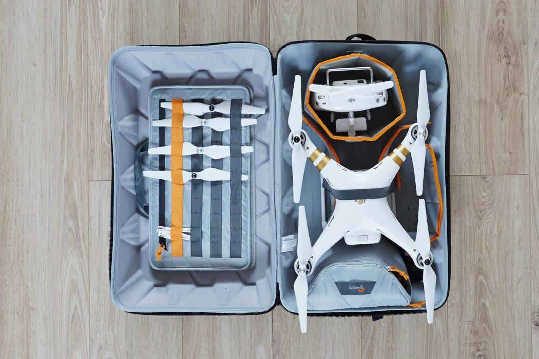 sac drone pratique voyage