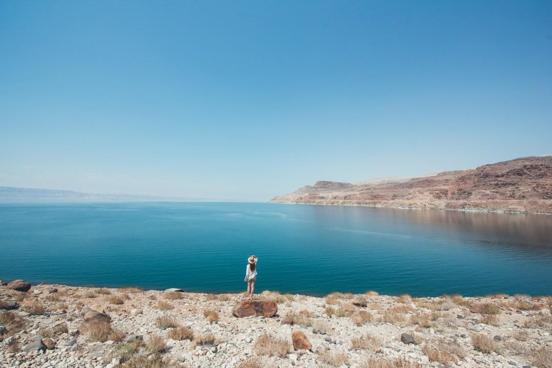 mer morte jordanie paysage