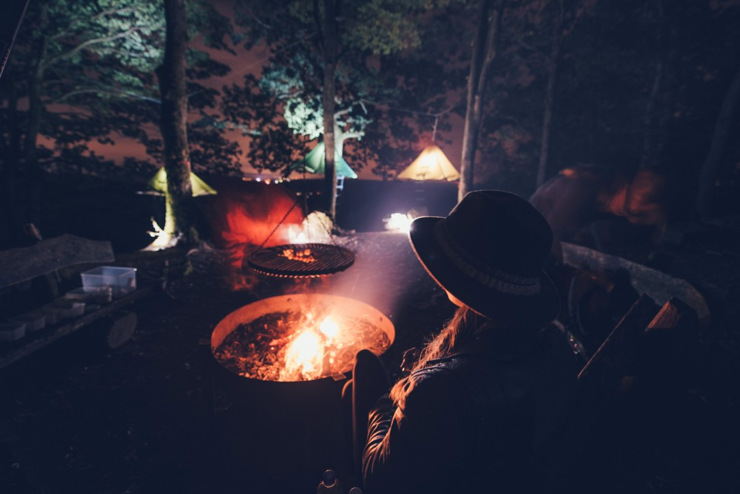 soirée feu de camp allemagne