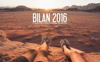 BILAN 2016   Le blogging voyage en pleine expansion