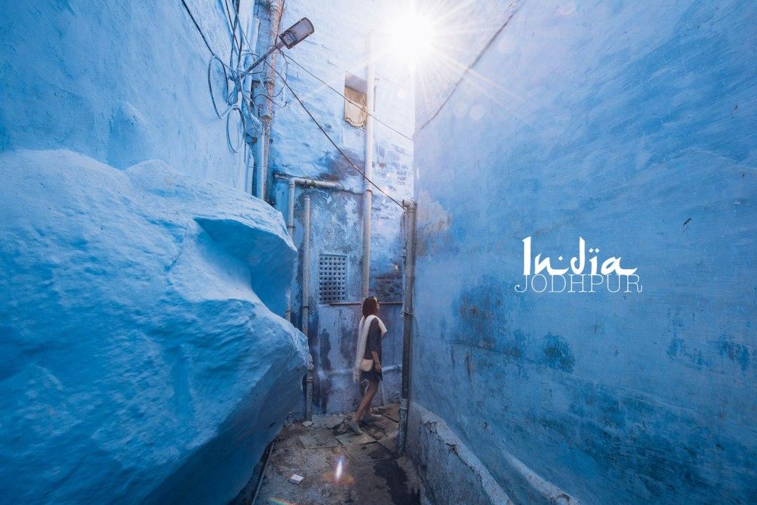 jodhpur la ville bleue d'inde du nord
