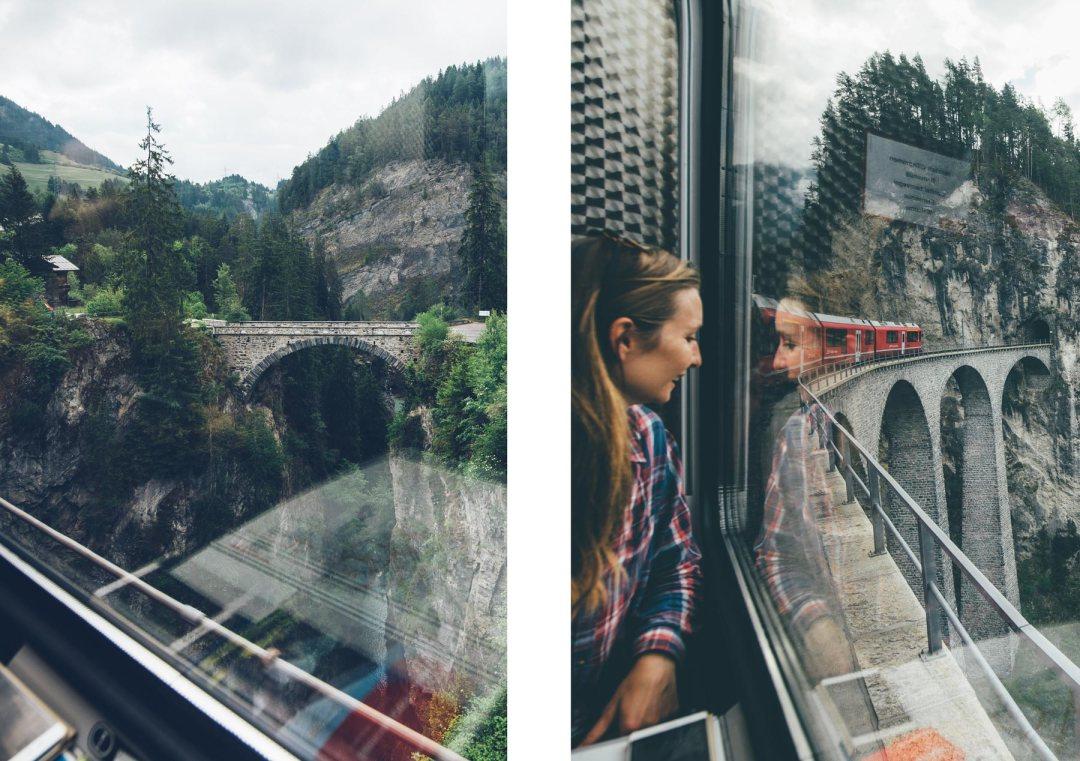 Bernina Express, Suisse