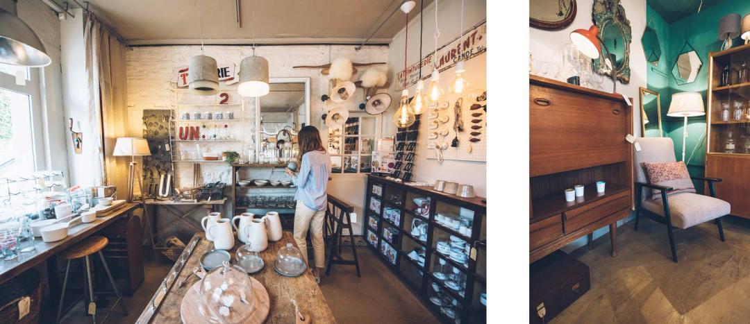 Lyons la Forêt, Boutique design