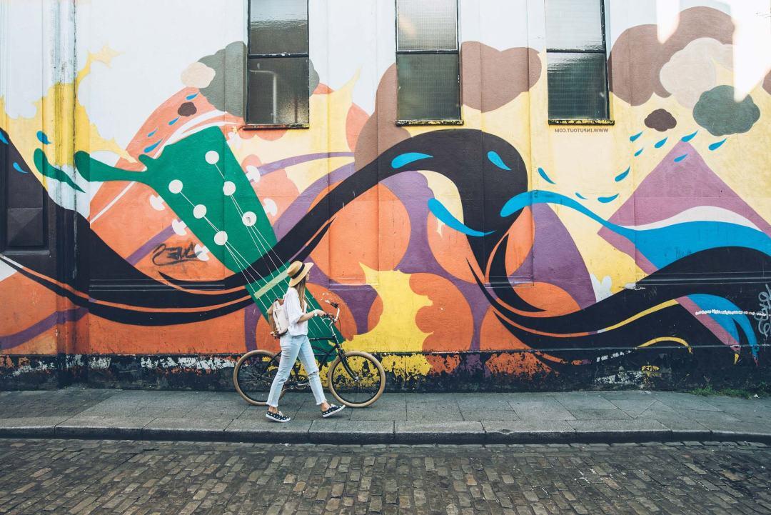 Street Art Dublin, Temple Bar