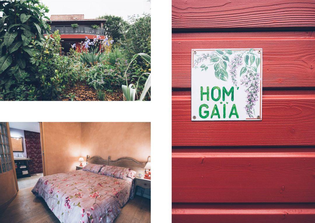 Hom'Gaïa, Clisson: Chambre d'hôtes, Bio et Feng Shui