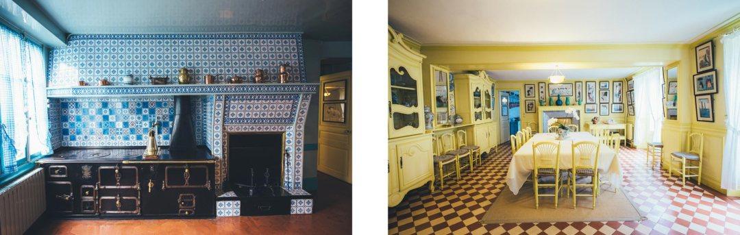 Maison de Claude Monet, intérieur