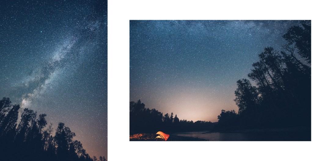 Une Nuit sous les étoiles du Nouveau Brunswick, Canada