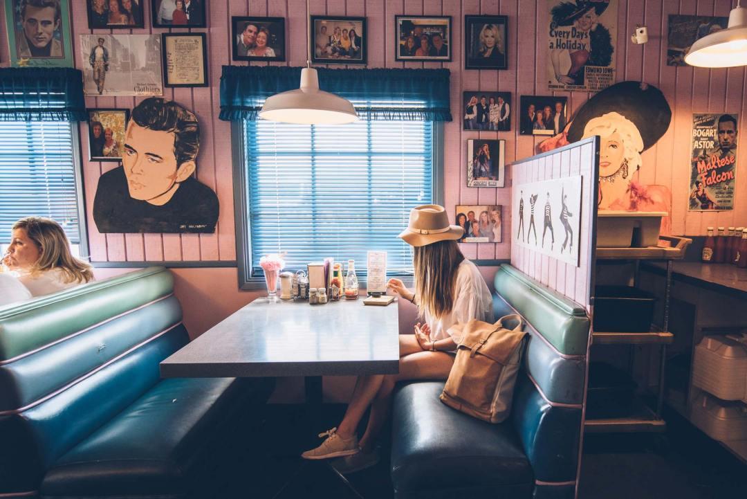 Diner Peggy Sue, entre Los Angeles et Las Vegas