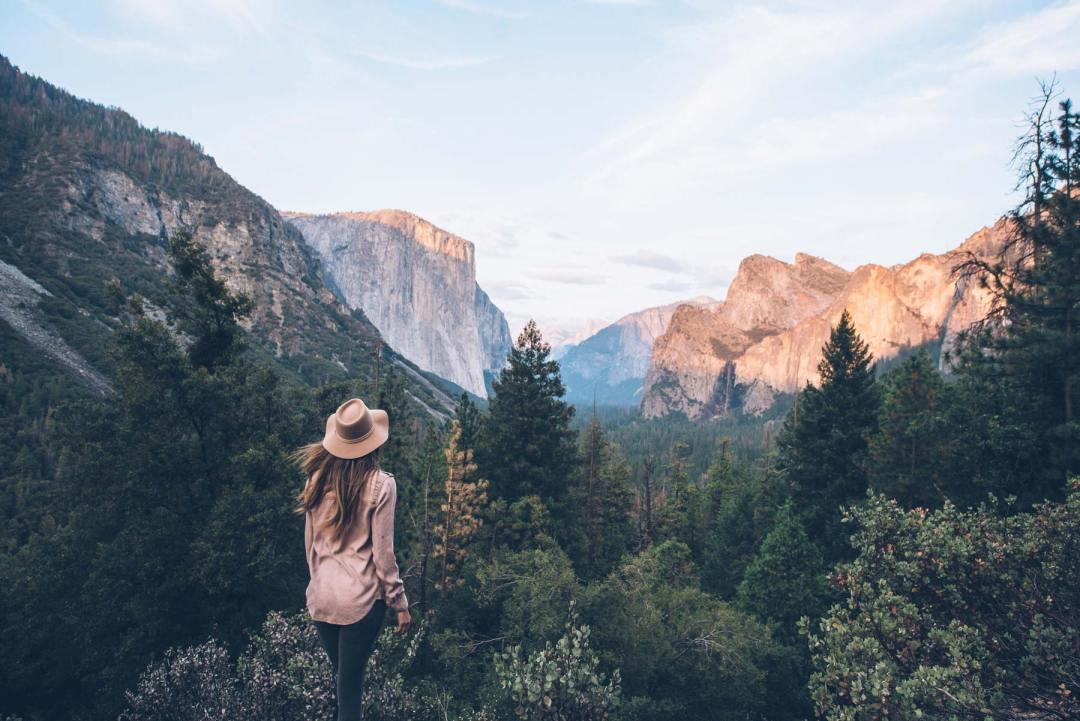 Tunnel view, Parc National de Yosemite, USA