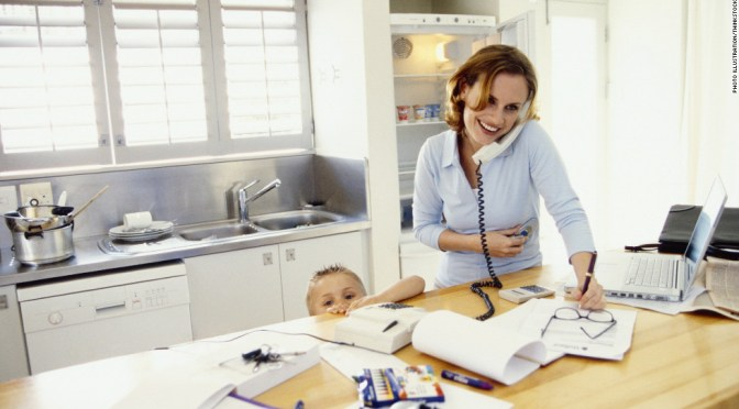 Why you should become a Work-at-home Mom?