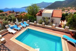 Turkuaz Villa with private pool best kalkan villas
