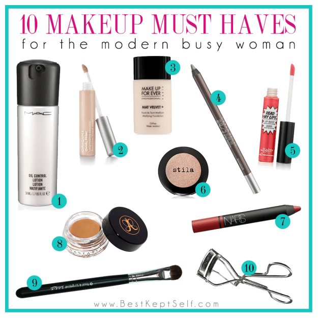 top 10 makeup must haves - Makeup Must Haves