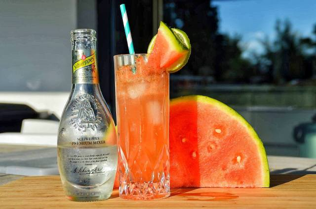 Mocktail watermeloen munt