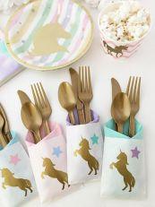 Unicorn tafel decoratie