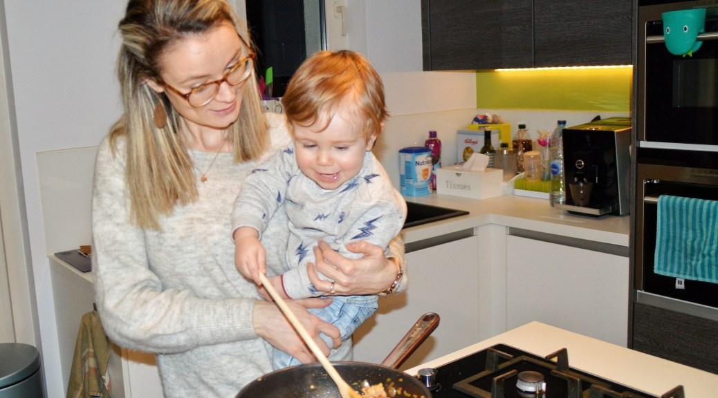 koken met kind