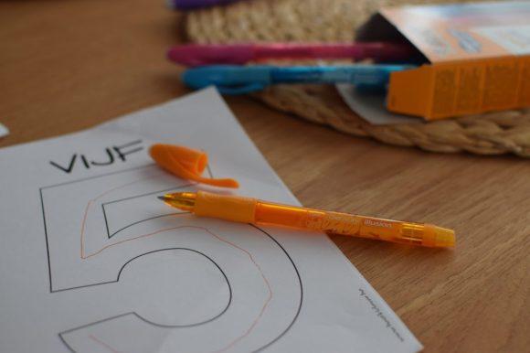 Leren schrijven cijfers