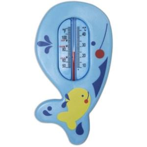 Usor de citit, termometrul de baie se dovedeste a fi extrem de util pentru a masura si mentine temperatura corespunzatoare de baie pentru cei mici. Marcat pentru a indica temperatura ideala a apei, acesta pluteste, permitand monitorizarea continua a temperaturii.