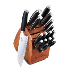 Good Kitchen Knife Set And Bath Remodeling Contractors Top 10 Best Knives Review Calphalon Contemporary Cutlery With Block 17 Piece