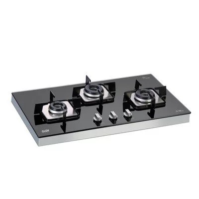 best 3 burner glass top gas stove brands in india