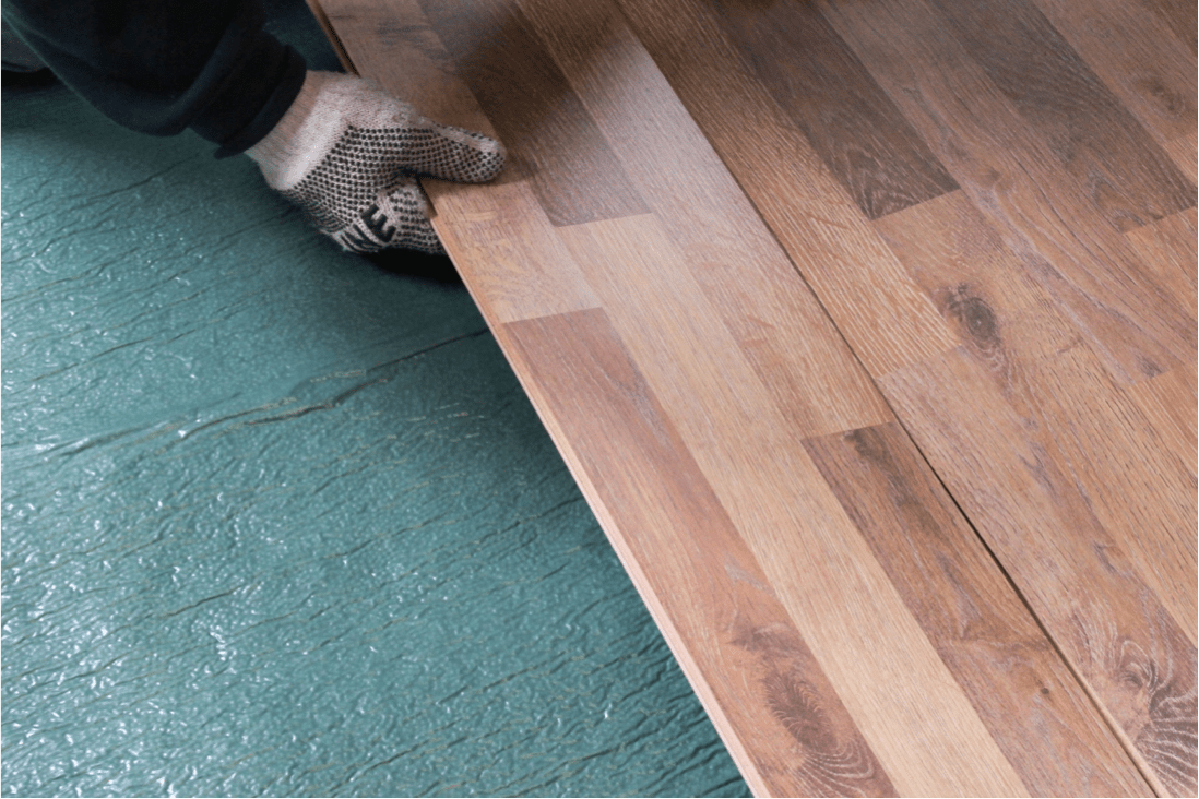 Can I use a thick or double layer underlayment with laminate