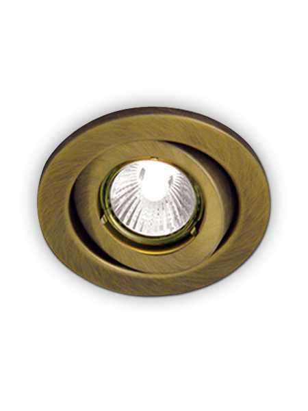 bazz 300 139 series recessed light antique brass
