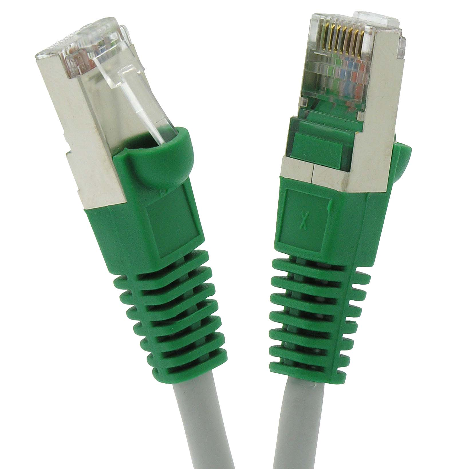 hight resolution of cat 5e shielded ftp cross booted cables