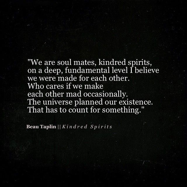 We Are Soul Mates