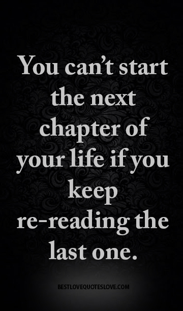 chapter in your life quotes