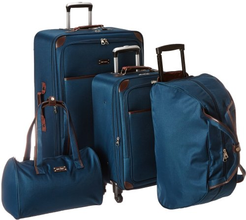 Ninewest Round Trip 5 Piece Luggage Set Review
