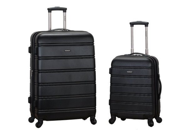"""Rockland Luggage 20"""" and 28"""" 2 Piece Expandable Spinner Set Review"""
