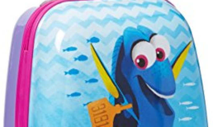 American Tourister 74728 Disney Finding Dory 18 Inch Upright Hardside Children's Luggage