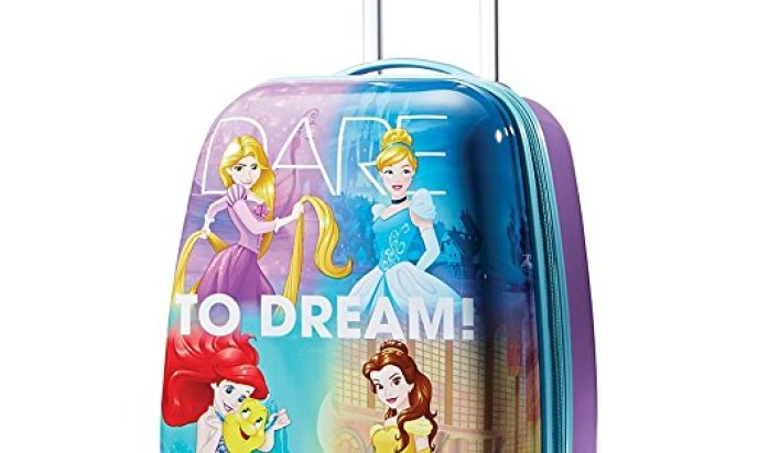 American Tourister Disney Princess 18 Upright Hardside