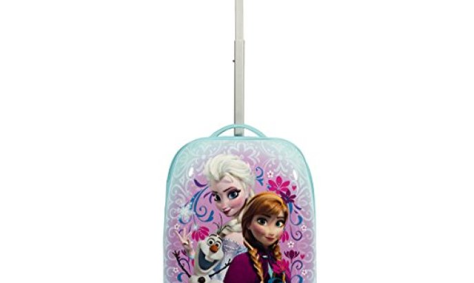 Disney Frozen Hard Shell Trolley Carry On Luggage