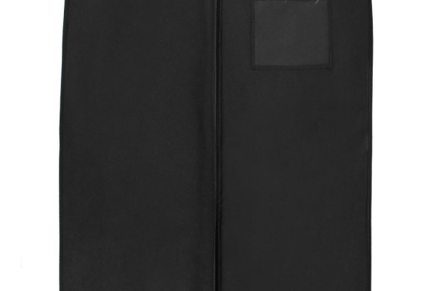 """New Breathable 54"""" Suit/Dress Black Garment Bag by BAGS FOR LESS"""