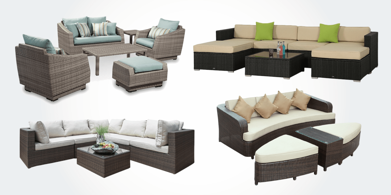 lexmod monterey outdoor wicker rattan sectional sofa set italian leather sears 18 best patio sofas furniture bestlyy